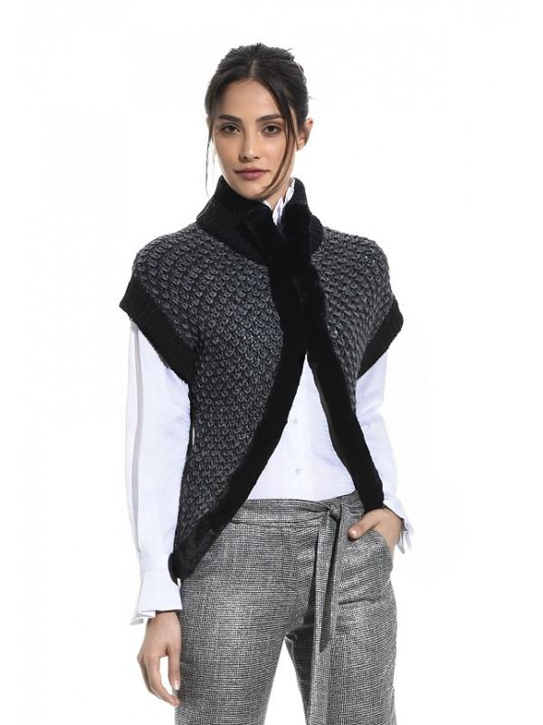 KNITTED JACKET 249616A